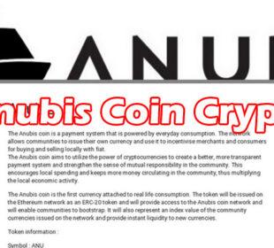 Anubis Coin Crypto (April 2021) Get Detailed Insight!