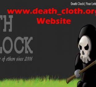 www.death-cloth.org Website 2021