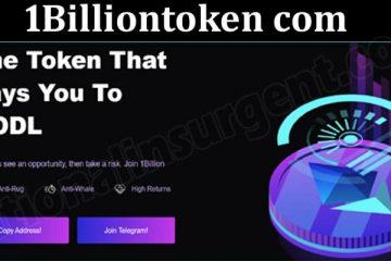1Billiontoken Com (May 2021) Token Price, How to Buy