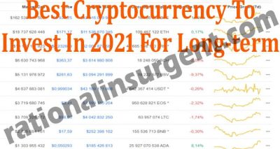Best Cryptocurrency To Invest In 2021 For Long-Term (May)