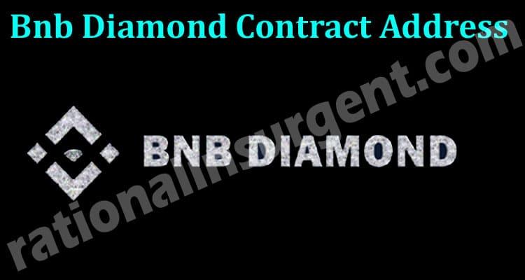 Bnb Diamond Contract Address 2021 Ration