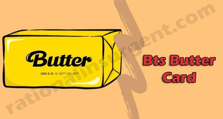 Bts Butter Card 2021