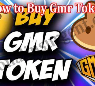 How to Buy Gmr Token 2021.