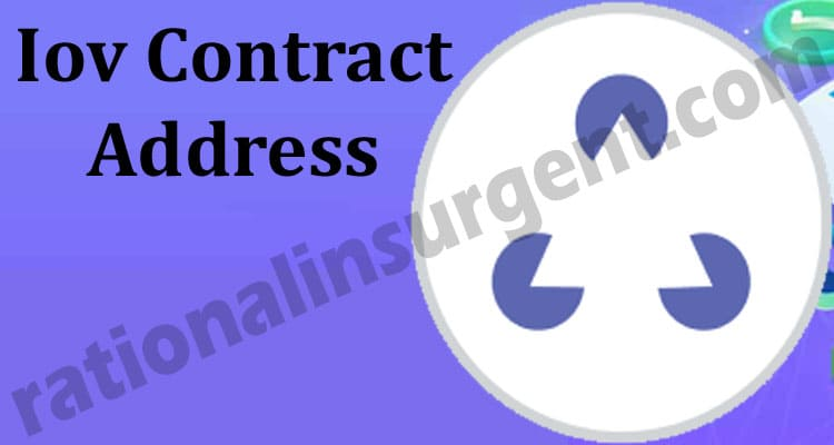 Iov Contract Address 2021