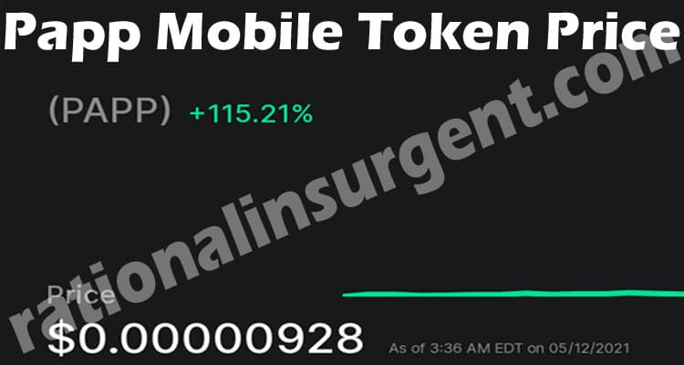 Papp Mobile Token Price 2021