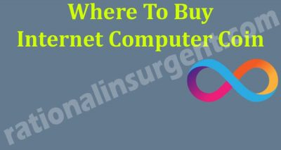 Where To Buy Internet Computer Coin 2021