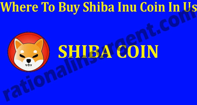 Where To Buy Shiba Inu Coin In Us