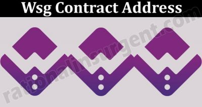 Wsg Contract Address (May 2021) Price, How to Buy
