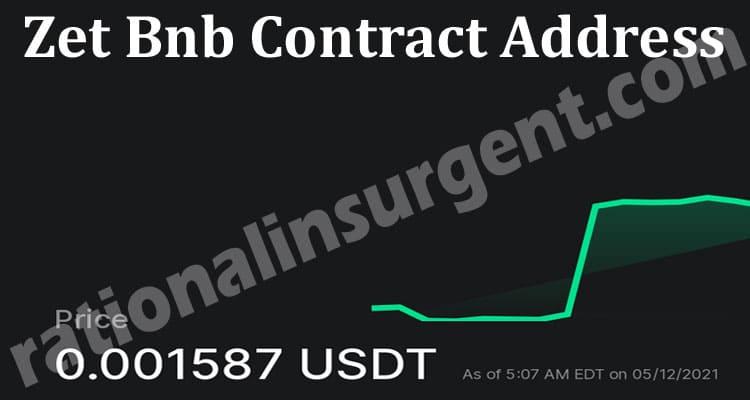 Zet Bnb Contract Address 2021