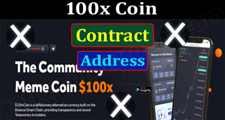 100x Coin Contract Address (June) Chart, How To Buy!