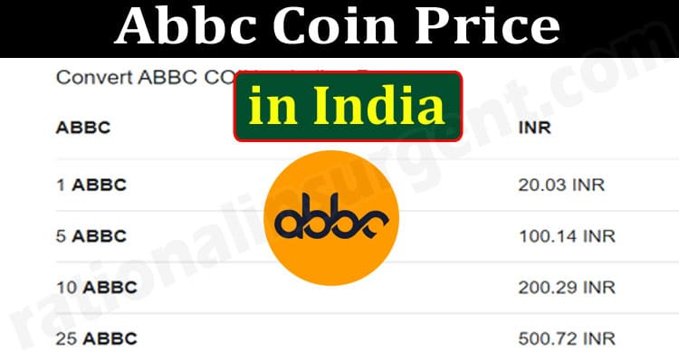 Abbc Coin Price in India {June} Let's Explore The Coin!