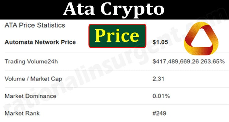 Ata Crypto Price (June) Char, Prediction, How To Buy!