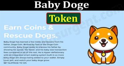 Baby Doge Token {Jun} Read Here For Token Information!