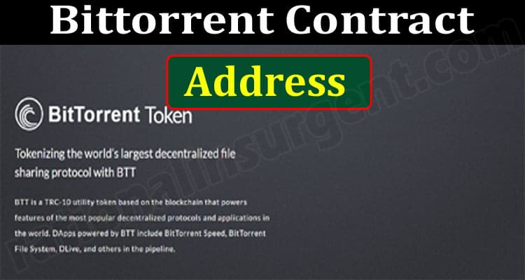 Bittorrent Contract Address (June) Price, How To Buy