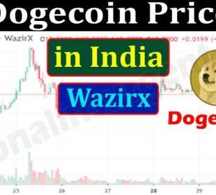 Dogecoin Price in India Wazirx 2021.