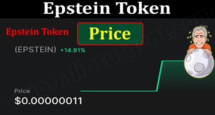 Epstein Token Price (June) How to Buy Contract Address