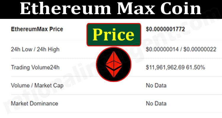 Ethereum Max Coin Price (June) Prediction, How To Buy!