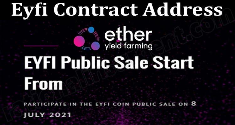 Eyfi Contract Address {June} Check Out The Details!