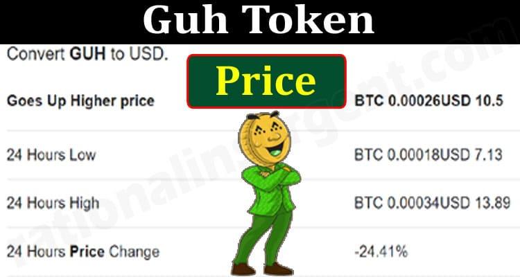 Guh Token Price (June 2021) Prediction, How To Buy