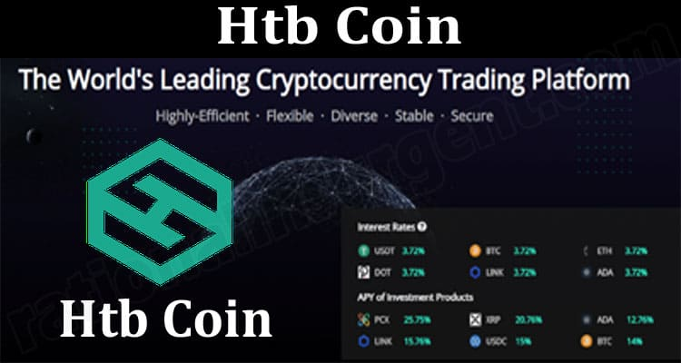 Htb Coin {June} Read About The Centralized Crypto Token!