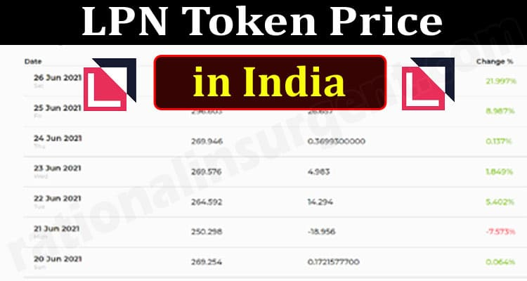 LPN Token Price in India (June 2021) Know How To Buy