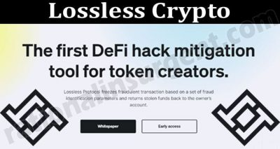 Lossless Crypto {Jun} Know More About This Crypto!