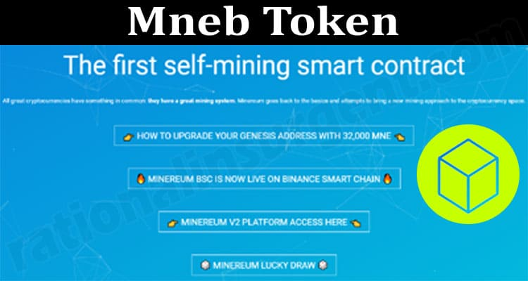 Mneb Token (June 2021) How To Buy Contract Address