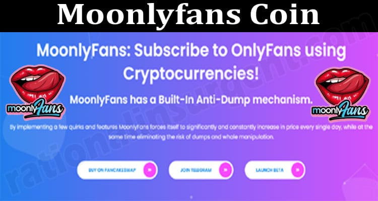 Moonlyfans Coin {Jun} Details Of The Crypto Token!