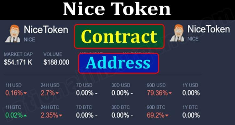Nice Token Contract Address (June) Chart, How To Buy!