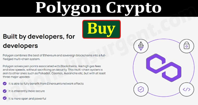 Polygon Crypto Buy {June 2021} Price, Chart & How to Buy