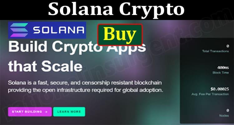 Solana Crypto Buy {Jun} Prediction For The Near Future!