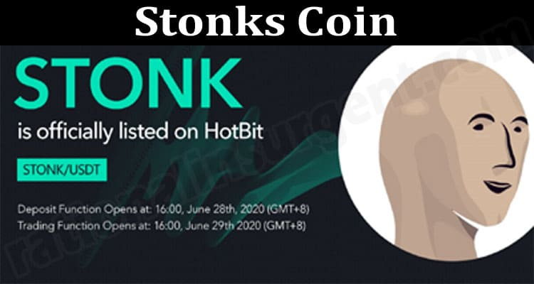 Stonks Coin {June} Know More About The Crypto Coin!