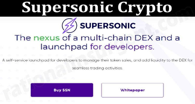 Supersonic Crypto {Jun} Here's The Complete Details!