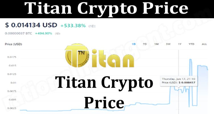 Titan Crypto Price {June} Let's Read About The Token!
