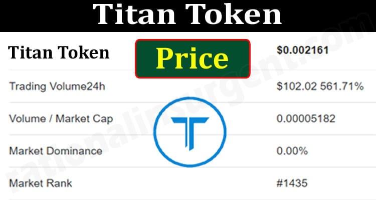 Titan Token Price (June 2021) - Chart & How to Buy