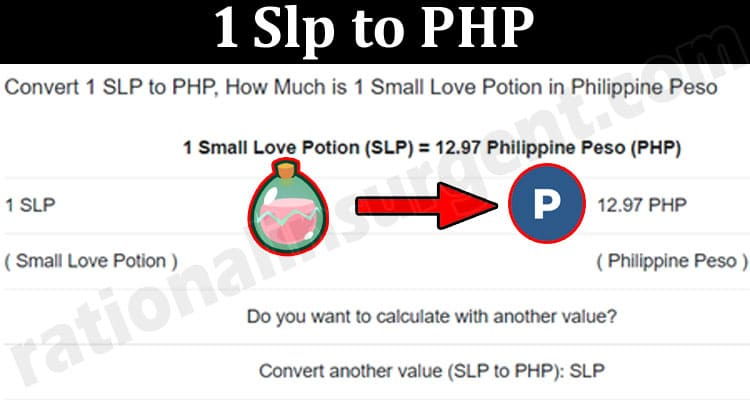 1 Slp To PHP 2021.