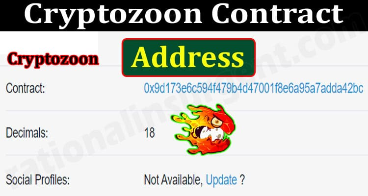 About General Information Cryptozoon-Contract-Address