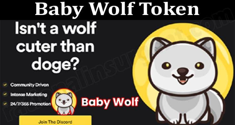 Baby Wolf Token 2021.