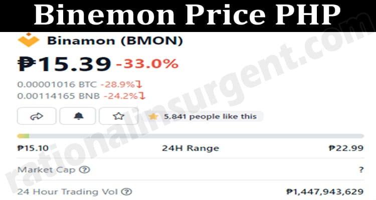 Binemon Price PHP 2021