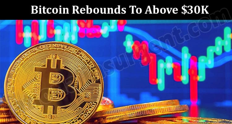 Bitcoin Rebounds To Above $30K, Resistance Seen At $34K 2021