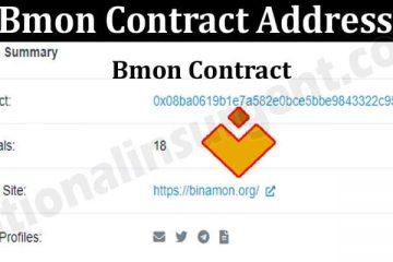 Bmon Contract Address 2021