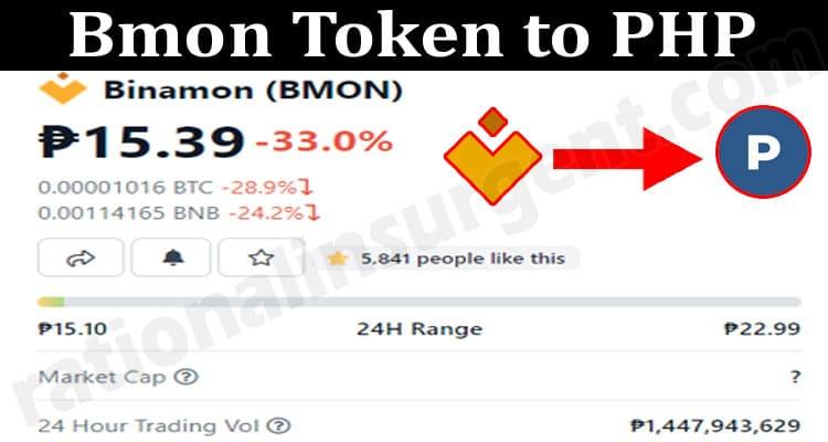 Bmon Token to PHP 2021