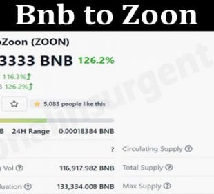 Bnb to Zoon 2021
