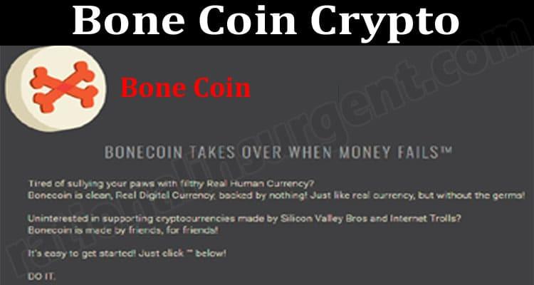 Bone Coin Crypto 2021.