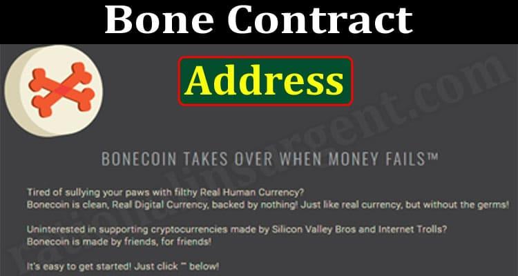 Bone Contract Address 2021.