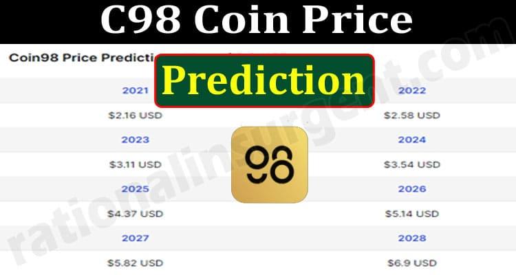 C98 Coin Price Prediction 2021.