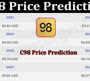 C98 Price Prediction 2021.