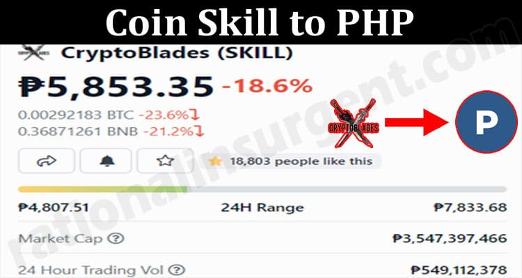 Coin Skill to PHP 201.