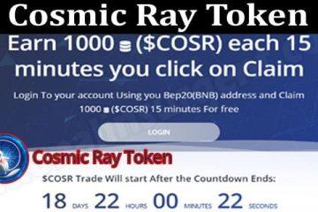 Cosmic Ray Token 2021