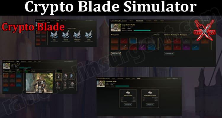 Crypto Blade Simulator 2021.